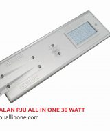 Lampu jalan PJU All in one 30 watt lampuallinone.com