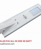 Lampu jalan PJU All in one 40 watt lampuallinone.com