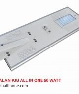 Lampu jalan PJU All in one 60 watt lampuallinone.com
