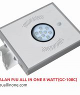Lampu jalan PJU All in one 8 watt(GC-108C) lampuallinone.com