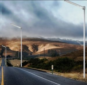 Lampu tenaga surya murah dan berkualitas 100 watt