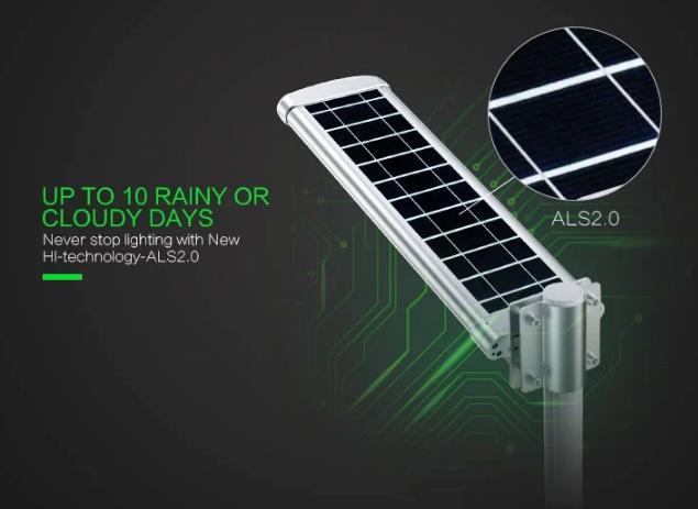 Lampu PJU all in one tenaga surya dengan remot control