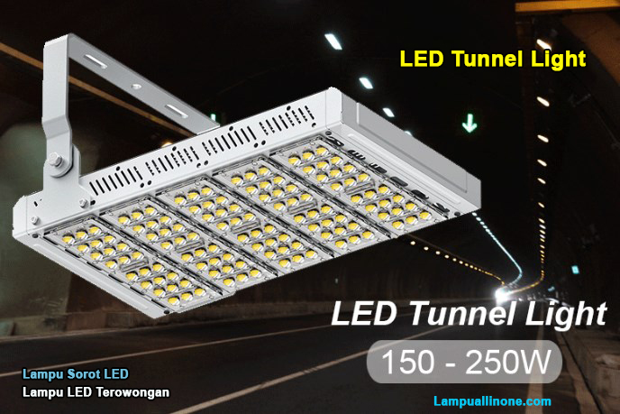 Deskripsi Lampu sorot led tunnel 150 watt murah