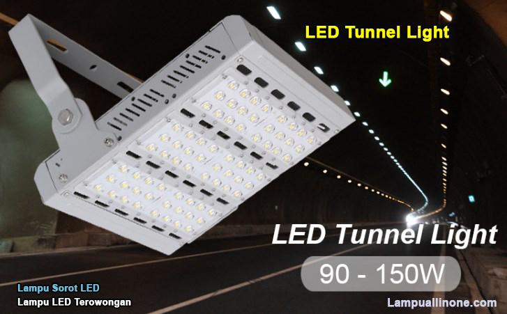 Detail lampu led tunnel sorot 90 philips watt murah surabaya