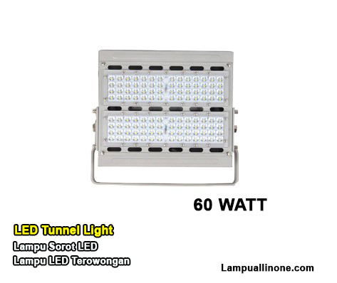 Harga lampu tunnel led 60 watt lampu sorot led