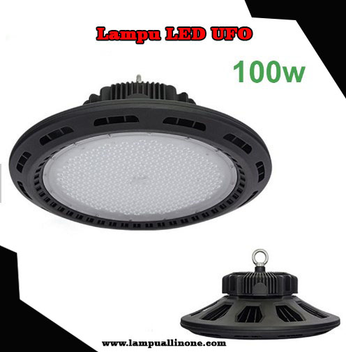 Jual Lampu LED UFO Low Bay Light Murah 100 watt Philips