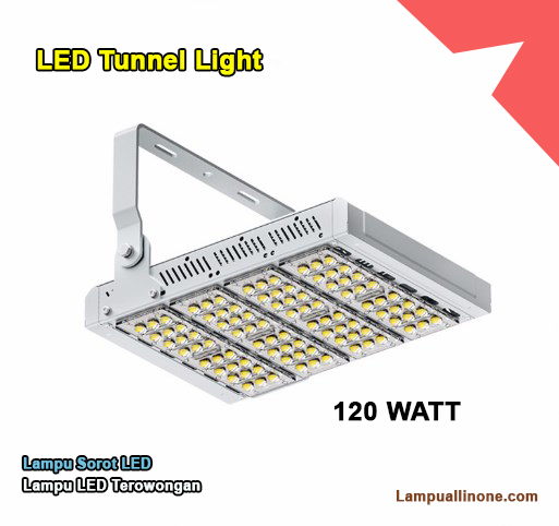Jual lampu led sorot tunnel light lampu terowongan CREE 120 watt