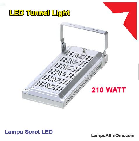 Jual lampu sorot tunnel 210 watt murah surabaya
