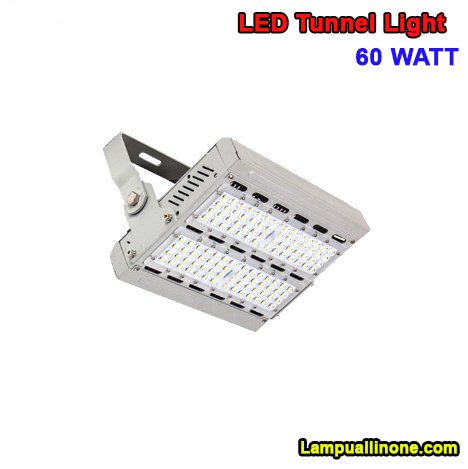 Lampu led sorot tunnel 60 watt murah