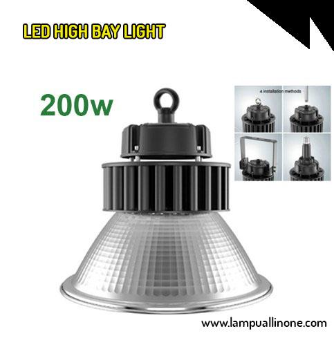 Led High Bay Murah 200 watt Sorot