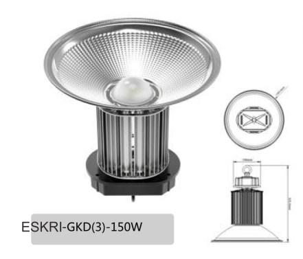 Led hight bay lampu gantung led murah untuk pabrik 150watt