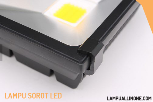 Tampilan Lampu Led Flood Light Single Chip