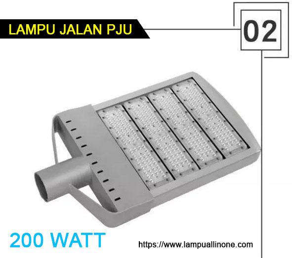 Lampu Jalan PJU led 200watt murah
