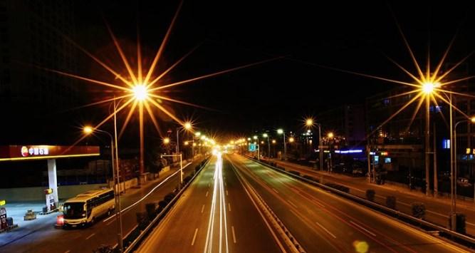 Pengaplikasian lampu jalan pju led murah (1)