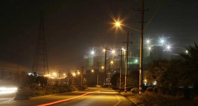 Pengaplikasian lampu jalan pju led murah (3)