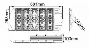 Ukuran lampu penerangan jalan umum 250 watt