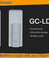 Lampu Jalan led dengan desain tipis dengan chip brand terkenal